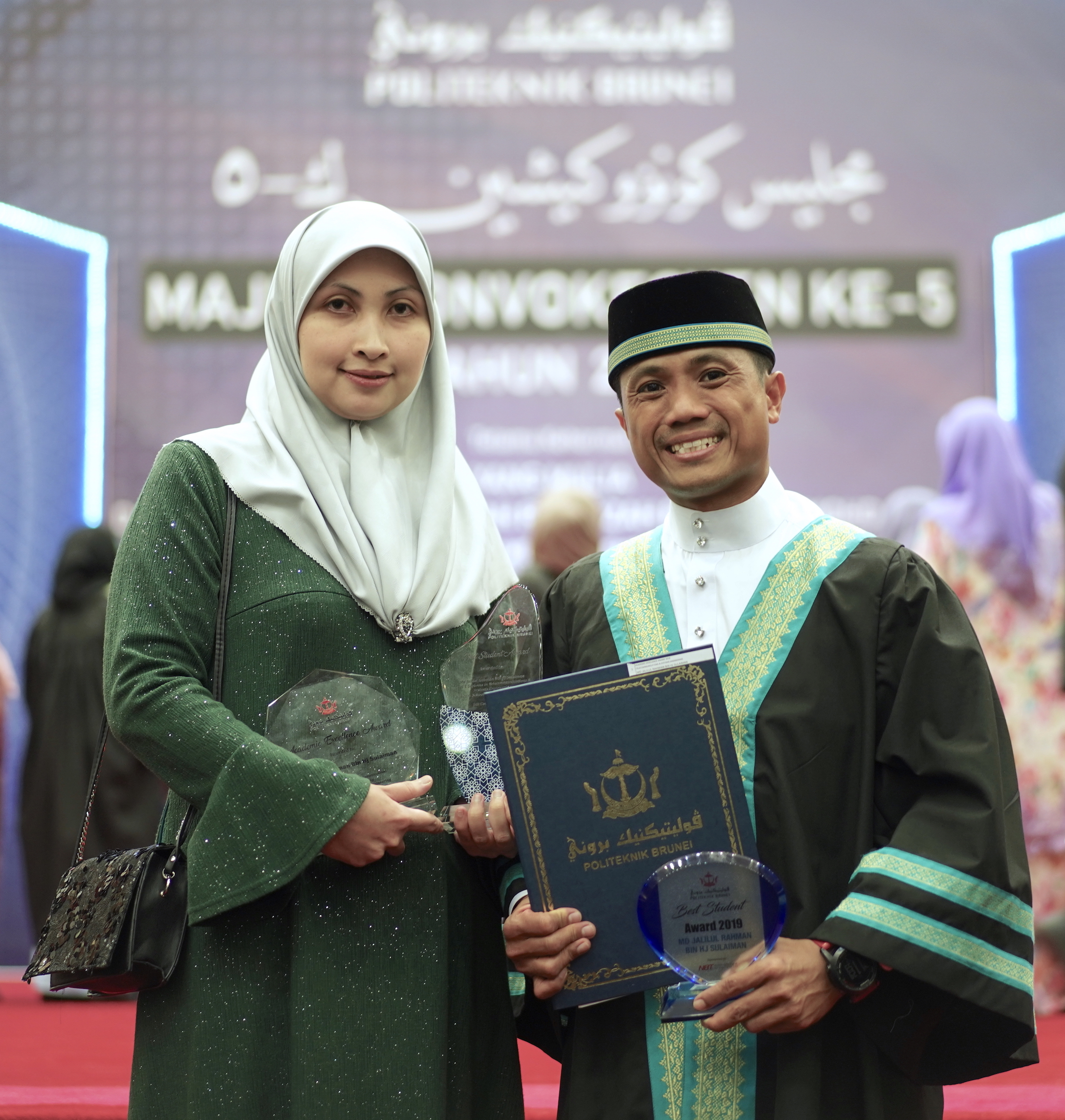 (BEST STUDENT AWARD) MD JALILUL RAHMAN BIN HJ SULAIMAN - LEVEL 5 DIPLOMA IN TELECOMMUNICATIONS & SYSTEMS ENGINEERING